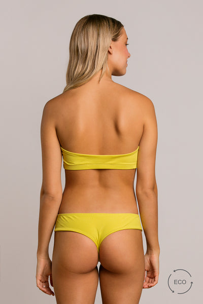 Sunbeam|Model is 5'8 (25) and wearing Small - Bootykini|STL-3