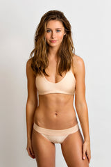 Model is 5'7 (32C) and wearing Small