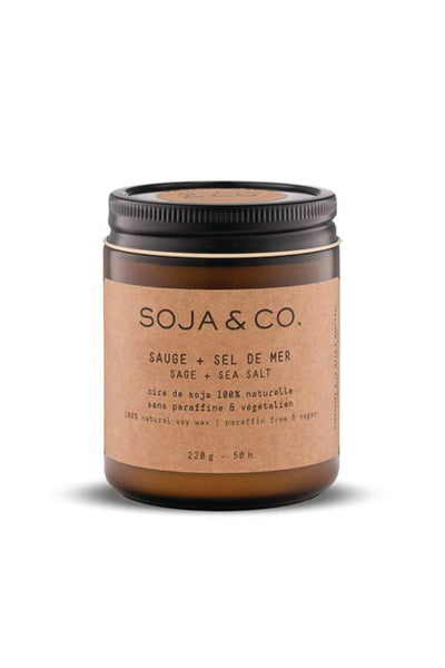SOJA&CO. Candle (8oz)