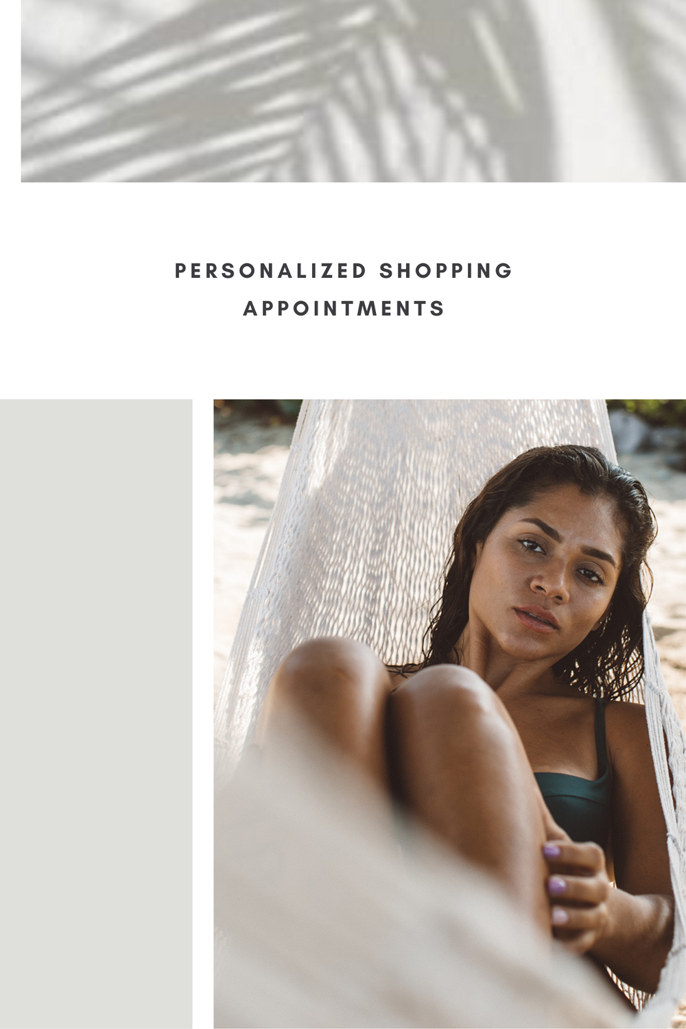 Personalized shopping appointment - Free