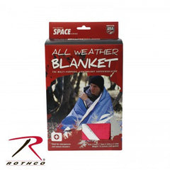 Red All Weather Survival Blanket