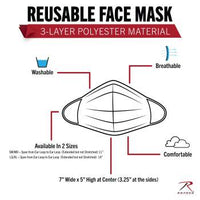 Reusable 3-Layer Face Mask