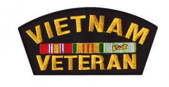 Vietnam Veteran Patch 6''