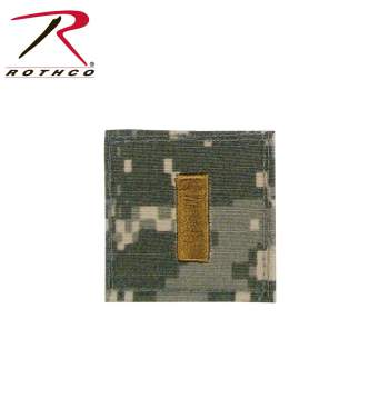 Official U.S. Made Embroidered Rank Insignia - 2nd Lieutenant