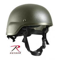ABS Mich-2000 Replica Tactical Helmet, Olive Drab