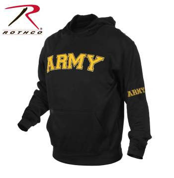 Army Embroidered Pullover Hoodie Sale!