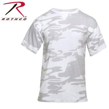 Colored Camo T-Shirt White Camo