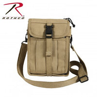Canvas Travel Portfolio Bag, Khaki
