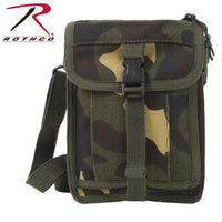 Canvas Travel Portfolio Bag, Woodland Camo