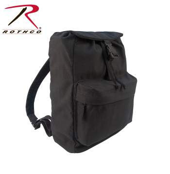 CANVAS DAYPACK, BLACK