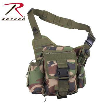 Advanced Tactical Bag, Woodland Camo
