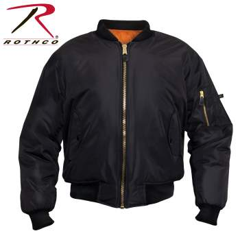 Enhanced Nylon MA-1 Flight Jacket