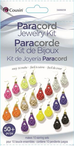 Coin Earrings Paracord Kit