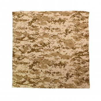Digital Camoflage Bandana, Desert Digital