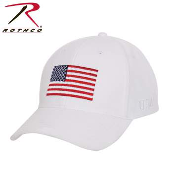 USA Flag Low Profile Cap