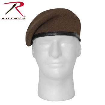 G.I. Inspection Ready Beret, Brown