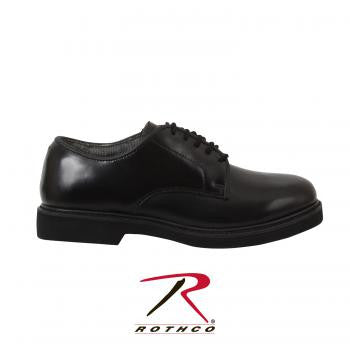 Military Uniform Oxford Leather Shoes