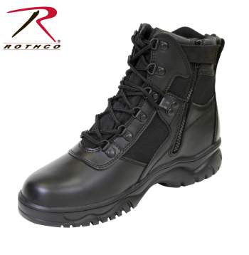 6 Inch Blood Pathogen Resistant & Waterproof Tactical Boot