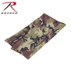 Multi Use Tactical Wrap, Woodland Camo