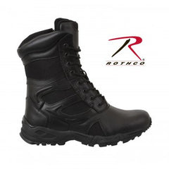 "FORCED ENTRY DEPLOYMENT BOOT with SIDE ZIPPER 8"" BLACK"