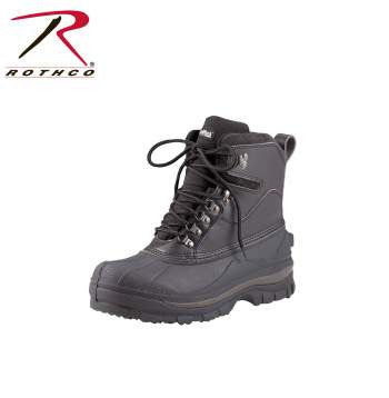Cold Weather Hiking Boots - Black