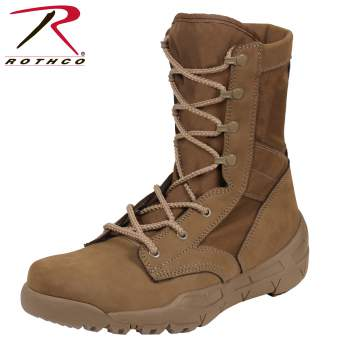 WATERPROOF V-Max Lightweight Tactical Boot - AR 670-1 Coyote Brown