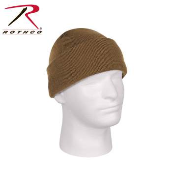 Deluxe Fine Knit Watch Cap Coyote Brown