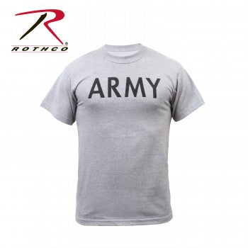 Grey Physical Training T-Shirt Army