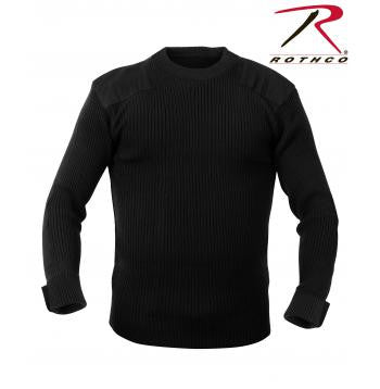 G.I. Acrylic Commando Sweater Black