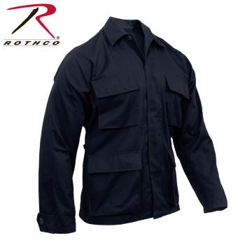 Solid BDU Shirt Midnight Navy Blue