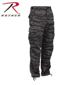 Camo Tactical BDU Pants Tri-Color Desert Camo