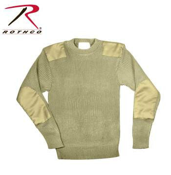 G.I. Acrylic Commando Sweater Khaki