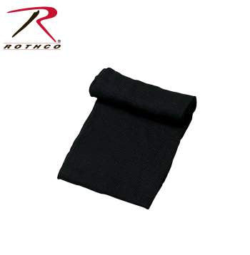 G.I. 100% Wool Scarf, Black