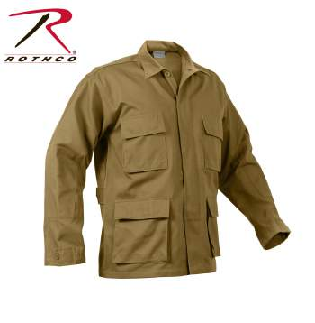 Solid BDU Shirt Coyote Brown