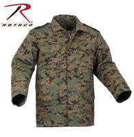 M-65 Camo Field Jacket Woodland Digital Camo