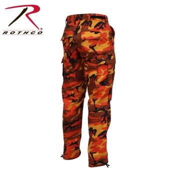 Color Camo BDU Pant Savage Orange