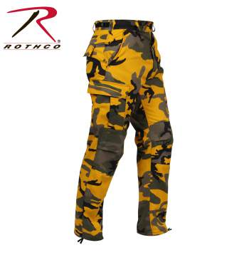 Color Camo BDU Pants, Stinger Yellow Camo
