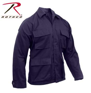 Solid BDU Shirt Navy Blue