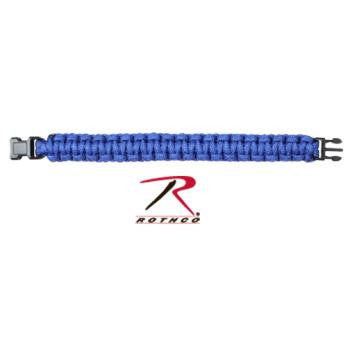 Solid Color Paracord Bracelet, Royal Blue