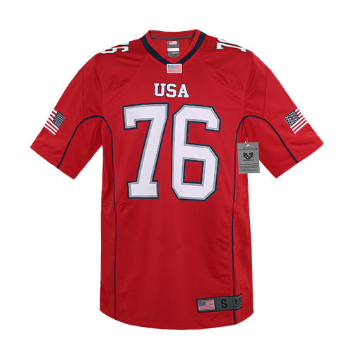 USA Football Jersey Red