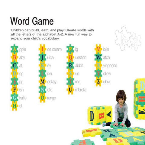 word game with play mat