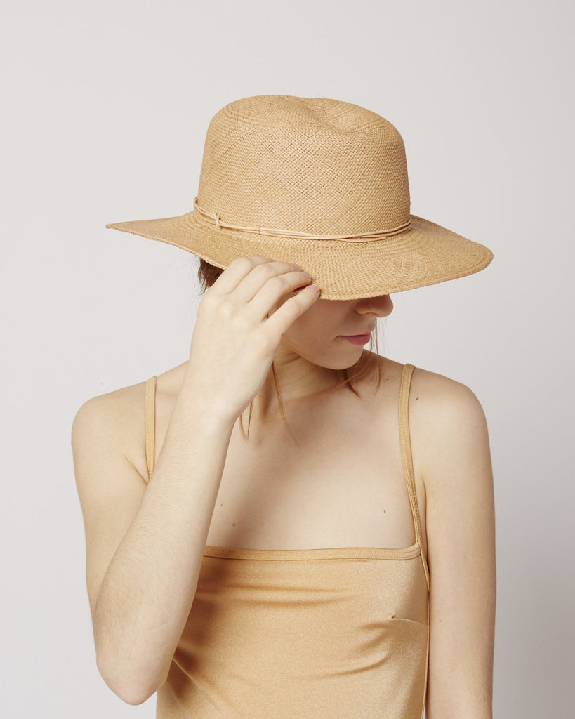 Jackson tan straw hat