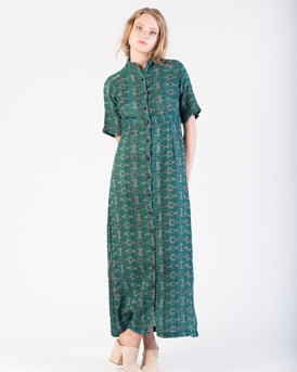 Ballad Dress in Emerald