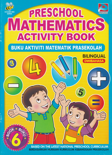Preschool Mathematics Activity Book Buku 6 (Dwibahasa)