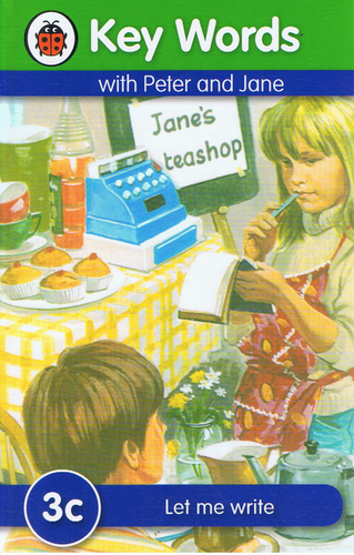 Ladybird-Key Words With Peter and Jane: Let Me Write (3c) (Kulit Tebal)-9781409301196-BukuDBP.com