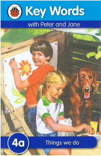 Ladybird-Key Words With Peter and Jane: Things We Do (4a) (Kulit Tebal)-9781409301165-BukuDBP.com