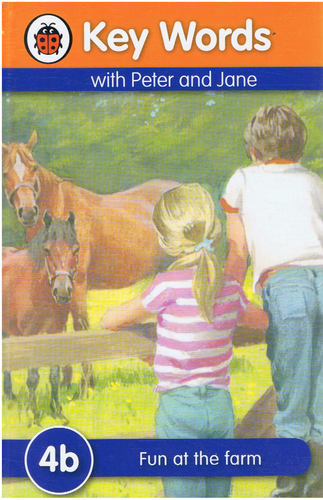 Ladybird-Key Words With Peter and Jane: Fun At The Farm (4b) (Kulit Tebal)-9781409301202-BukuDBP.com