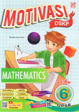 Load image into Gallery viewer, Pelangi-Motivasi DSKP: Mathematics Year 6-9789830087597-BukuDBP.com