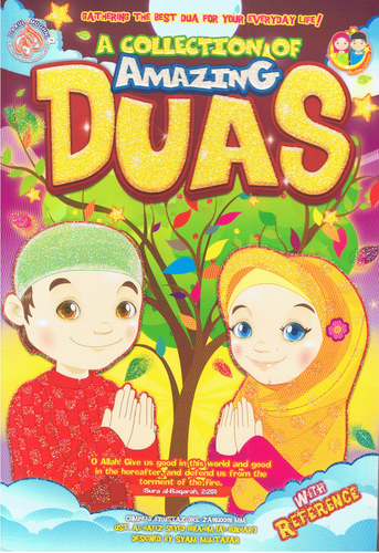 Edukid Publication-A Collection Of Amazing Duas-9789670618074-BukuDBP.com