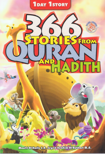 Edukid Publication-366 Stories From Quran And Hadith-9789670414775-BukuDBP.com